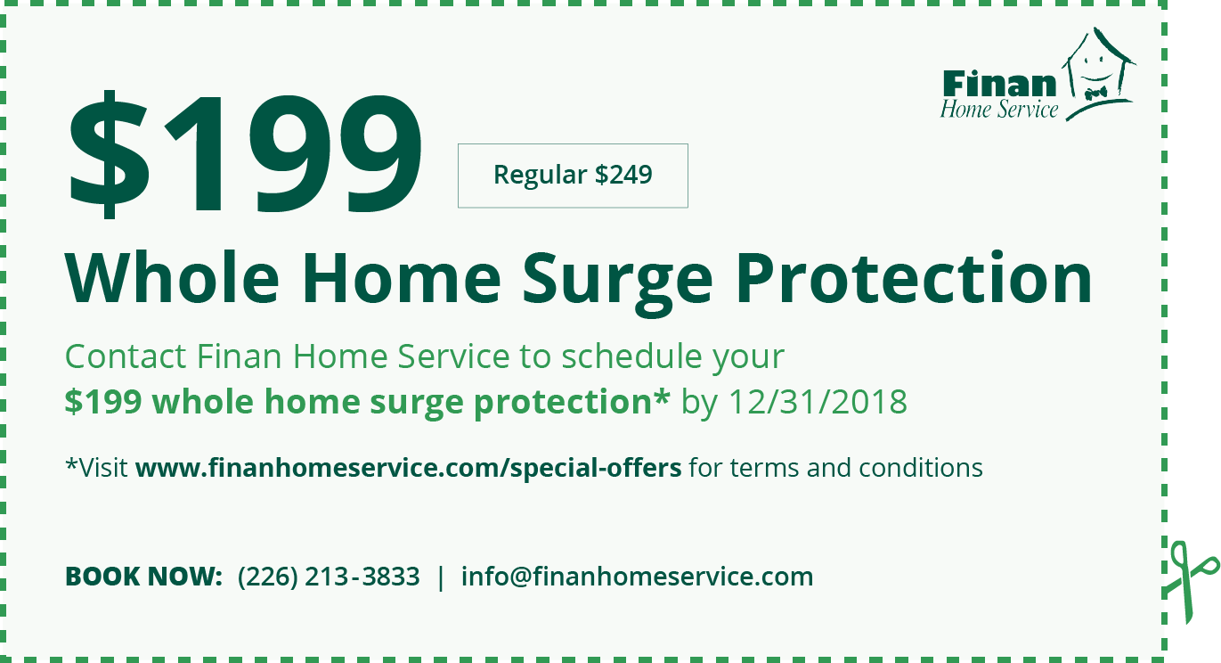 Whole Home Surge Protection Coupon